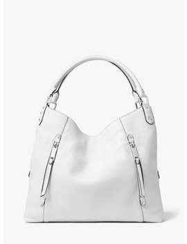 Evie Large Leather Shoulder Bag by Michael Michael Kors