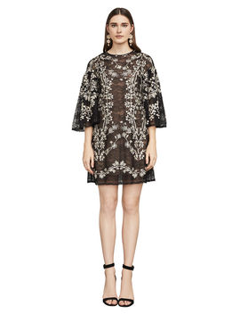 Evangeline Embroidered Floral Dress by Bcbgmaxazria