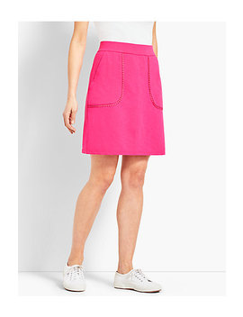 Slub Terry Knit Skirt by Talbots
