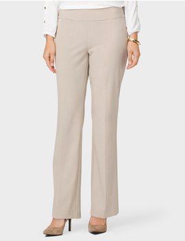 Roz&Ali Secret Agent Pull On Trouser Pants, Short by Dressbarn