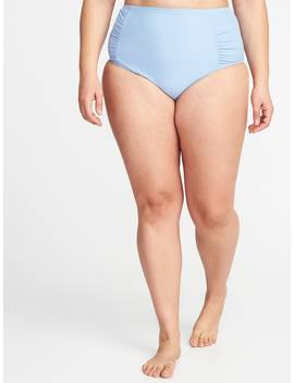 High Rise Smooth &Amp; Slim Plus Size Swim Bottoms by Old Navy