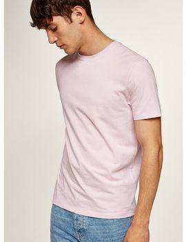 Pink Slim T Shirt by Topman