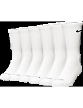 Nike Dri Fit 6 Pack Crew Socks by Nike