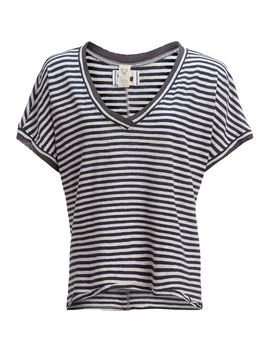 Take Me Short Sleeve Striped T Shirt   Women's by Free People