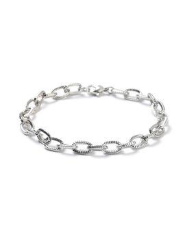Silver Chain Bracelet* by Topman