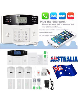 Gsm Wireless Home Burglar Alarm Anti Theft System Sos Pir Motion Detetor Sensor by Unbranded/Generic