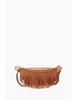 Bree Belt Bag With Fringe by Rebecca Minkoff