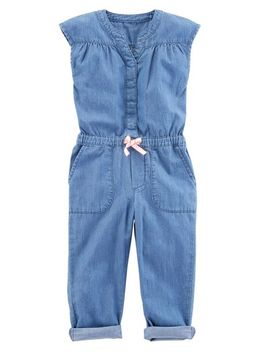 Chambray Jumpsuit by Oshkosh