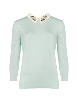 Sweater Mit Kragenverzierungen by Ted Baker