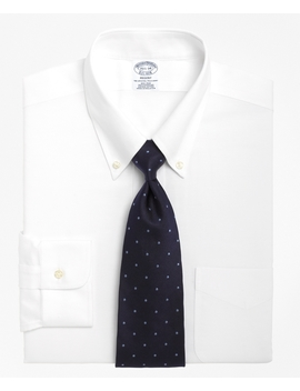 Brooks Cool® Regent Fitted Dress Shirt, Non Iron Button Down Collar by Brooks Brothers