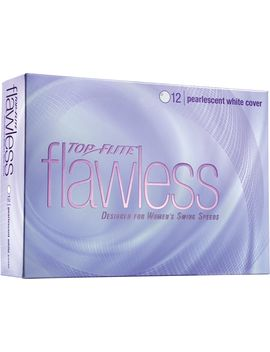 Top Flite Women's Flawless Pearlescent White Golf Balls by Top Flite