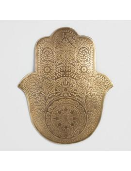 Small Etched Metal Hamsa Wall Decor by World Market
