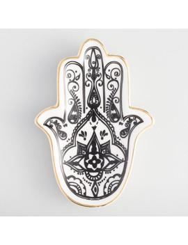 Hamsa Hand Trinket Dish by World Market