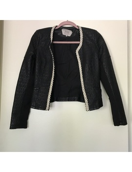 Zara Quilted Leather Blazer 🌟 Moving Sale by Zara