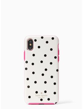 Dancing Dot Iphone X Case by Kate Spade