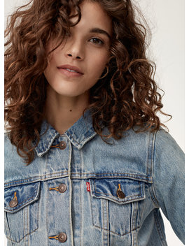 Boyfriend Jacket Blue by Levi's