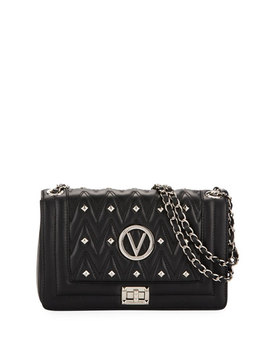 Alice Sauvage Studded Shoulder Bag by Valentino By Mario Valentino