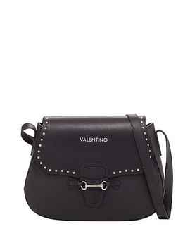 Lucy Leather Crossbody Bag by Valentino By Mario Valentino