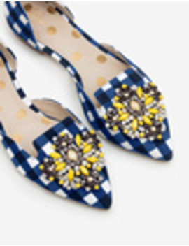 Leah Jewelled Flats by Boden