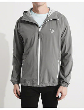 Stretch Windbreaker by Hollister