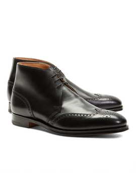 Peal &Amp; Co.® Leather Wingtip Boots by Brooks Brothers