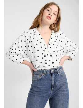 Text Spot Taylor    Bluse by Topshop