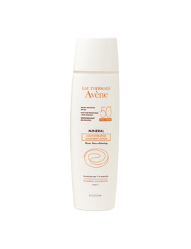 Avene Mineral Light Hydrating Sunscreen Lotion, Face & Body Spf 50+4.2 Oz. by Walgreens