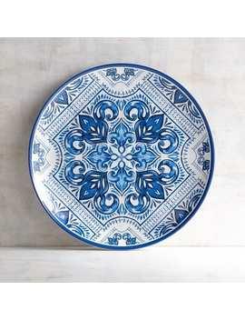 Mykonos Tile Melamine Dinner Plate by Pier1 Imports