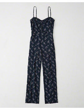 Floral Jumpsuit by Abercrombie & Fitch