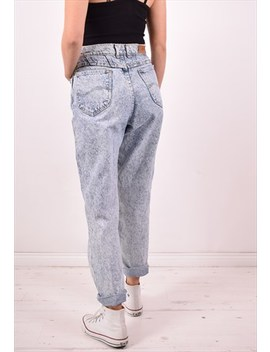 Lee Womens Vintage Jeans W28 L29 Blue 90s by Lee