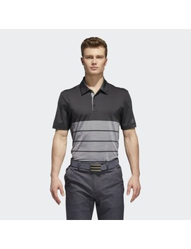Ultimate365 Heather Block Polo Shirt by Adidas