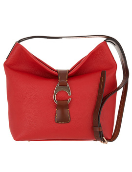 Dooney &Amp; Bourke Leather Crossbody Hobo   Derby by Qvc
