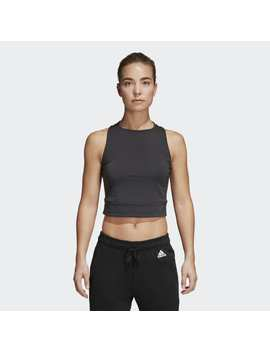 Id Crop Tank Top by Adidas