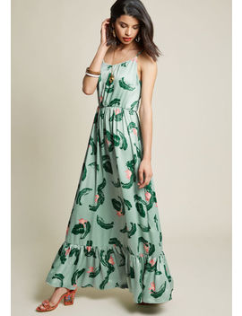Wholehearted Whim Floral Maxi Dress Wholehearted Whim Floral Maxi Dress by Modcloth