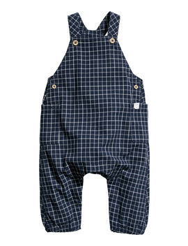 Checked Bib Overalls by H&M