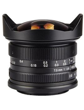 7.5mm F/2.8 Fisheye Lens For Sony E Mount Cameras by 7artisans Photoelectric