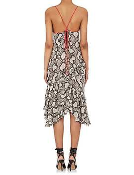 Corona Silk Halter Dress by Altuzarra