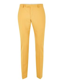 Twisted Tailor Yellow 'ellroy' Trousers by Topman