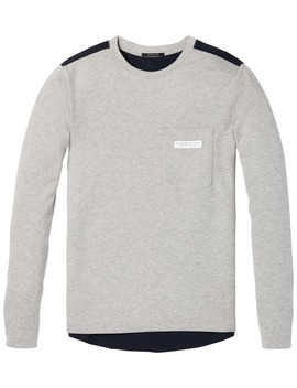 Mixed Jersey Sweater by Scotch&Soda