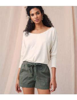Lou &Amp; Grey Garment Dye Poplin Shorts by Lou & Grey