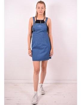 Levi's Womens Vintage Denim Dress Small Blue 90s by Levi's