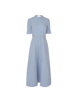 Valery Blue White Dress by L.K.Bennett