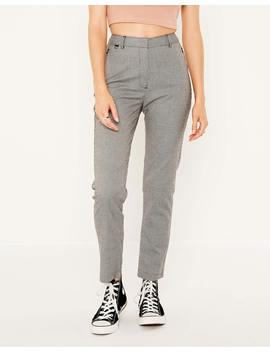 Slim Fit Houndstooth Pant by Glassons