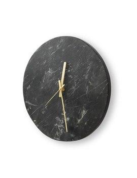 Black MarbleClock by Olivar Bonas