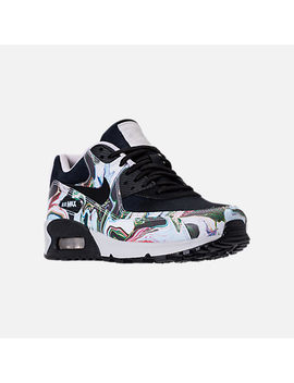 Women's Nike Air Max 90 Marble Running Shoes by Nike