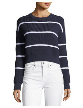 Racked Rib Pullover Sweater by Vince