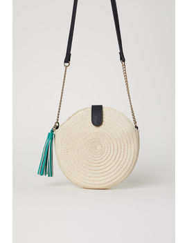 Round Straw Bag by H&M