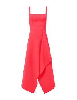 Bustier Pink Dress by Dion Lee