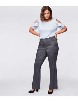 Loft Plus Trousers In Button Pocket by Loft