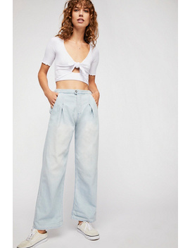 Trouser Wide Leg Jeans by Free People